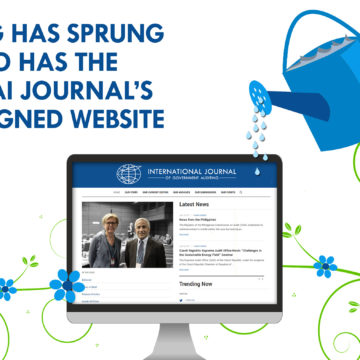 Spring Has Sprung, So Has the INTOSAI Journal's Redesigned Website