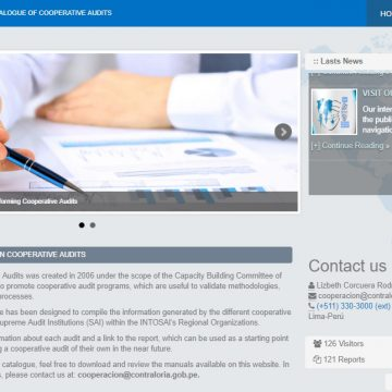 INTOSAI Cooperative Audits Virtual Catalog Now Available