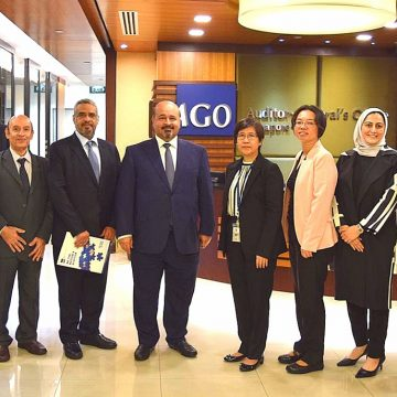 Bahrain's NAO submits annual report, welcomes new AG, Celebrates Staff Representing FIPP, Earning Top Honors