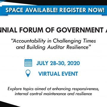 Online Training Opportunity Addressing Accountability in Challenging Times, Building Auditor Resilience