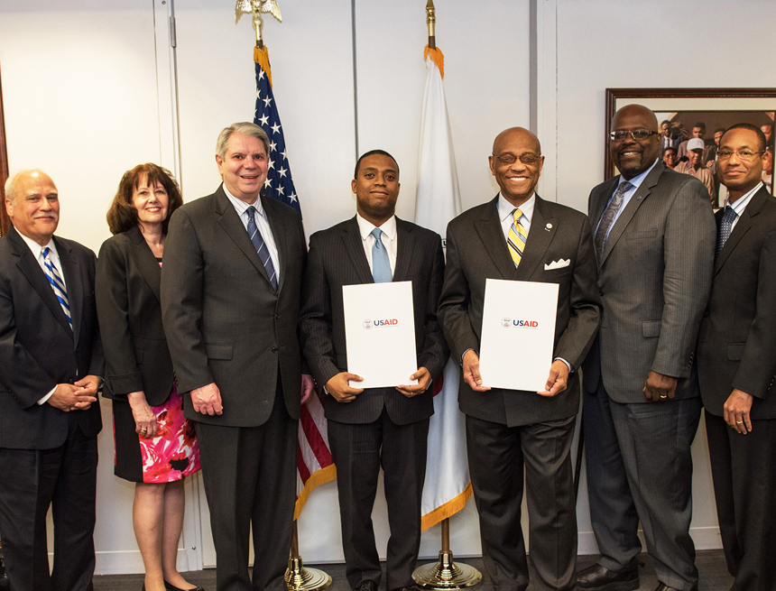 Center for Audit Excellence signs agreement with USAID