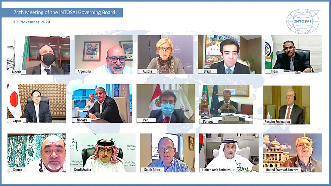 INTOSAI Governing Board First Virtual Meeting