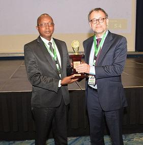 Rwanda OAG Receives Best Performance Audit Report Award