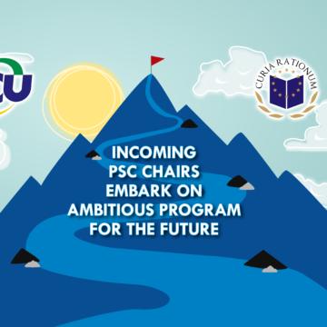 PSC Passes Baton, Aims for Ambitious Program
