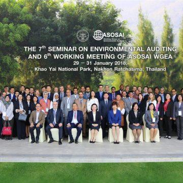 ASOSAI WGEA Holds Seminar, Working Meeting