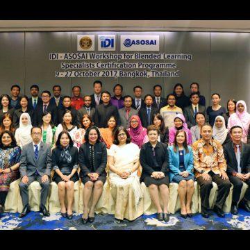 Thailand Hosts IDI, ASOSAI Blended Learning Certification Program