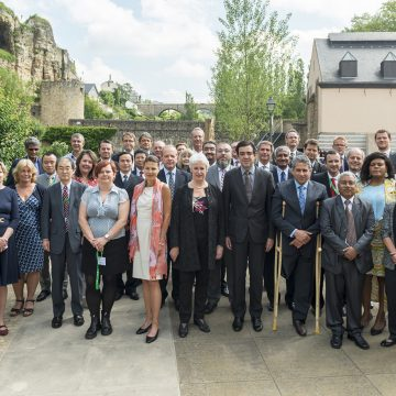 Professional Standards Committee Steering Committee Meets in Luxembourg