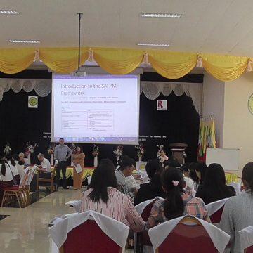 SAI Myanmar Employs SAI PMF